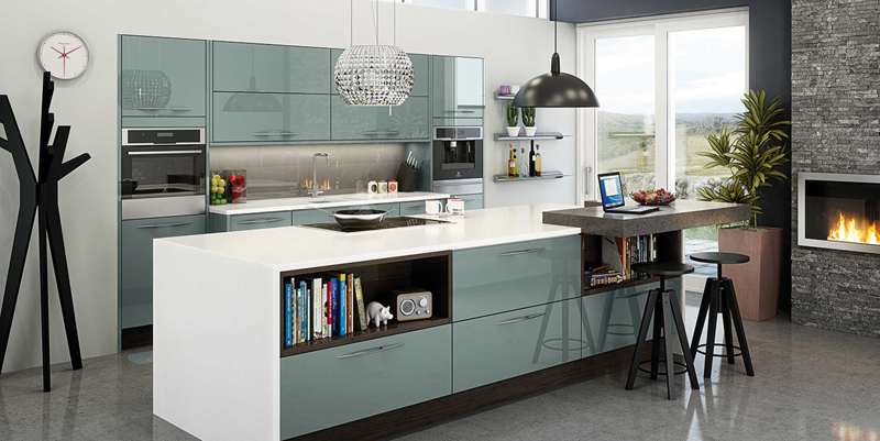 Kitchen trends 2015 blue sm mckeown building contractors for New kitchen designs 2015